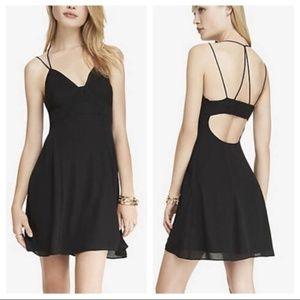 Express Strappy Little Black Dress